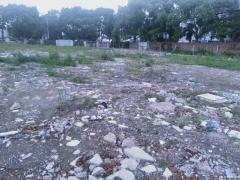 叶榭叶新公路工业地12亩有土地证通水电已硬化