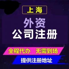 上海外资公司注册